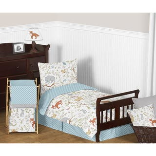 Link to Sweet Jojo Designs Woodland Toile Comforter Set Similar Items in Kids Comforter Sets