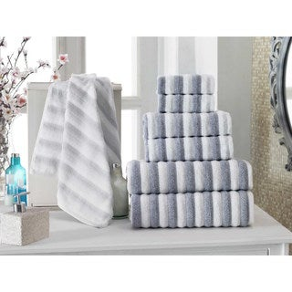 Enchante Home Napa 6-Piece Turkish Cotton Towel Set