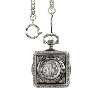 Smithsonian Institution Buffalo Nickel Pocket Watch