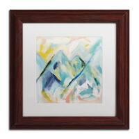 Carrie Schmitt 'Mile High' Matted Framed Art