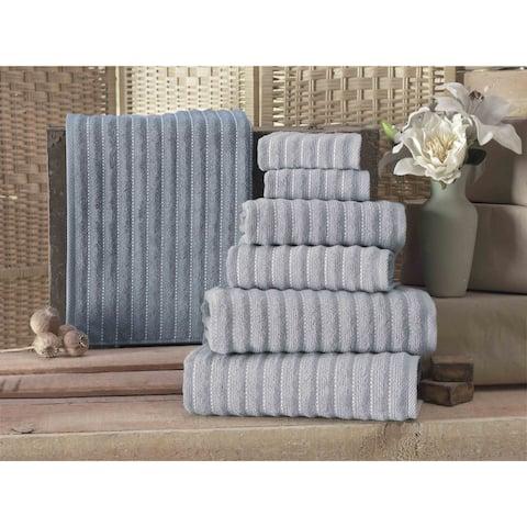 Enchante Home Napa Turkish Cotton Hand Towel (Set of 8) - 16x28 inches