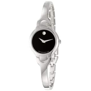 Movado Women's 605247 Kara Stainless Steel Bracelet Watch|https://ak1.ostkcdn.com/images/products/1520846/1520846/Movado-Kara-Womens-Stainless-Steel-Bracelet-Watch-P1137770.jpg?impolicy=medium