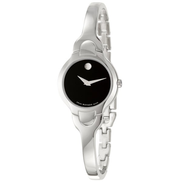 Shop Movado Women s Kara Stainless Steel Bracelet Watch - Free Shipping  Today - Overstock - 1520846 f2c183d39