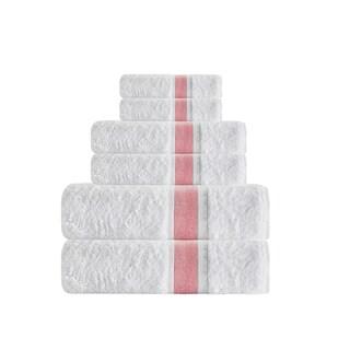 Enchante Home Unique 6-Piece Turkish Cotton Towel Set