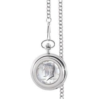 Smithsonian Institution JFK Half Dollar Pocket Watch
