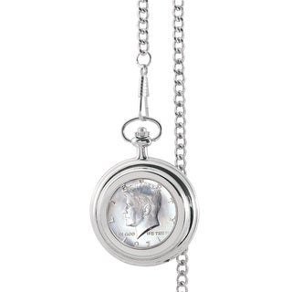 Smithsonian Institution JFK Half Dollar Pocket Watch