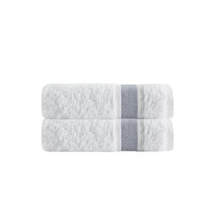Enchante Home Unique Turkish Cotton Bath Towels (Set of 2)