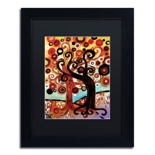 Natasha Wescoat '072' Matted Framed Art