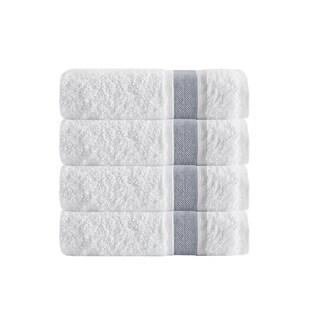 Enchante Home Unique Turkish Cotton Bath Towels (Set of 4) (Option: Anthracite)