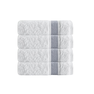 Enchante Home Unique Turkish Cotton Bath Towels (Set of 4)