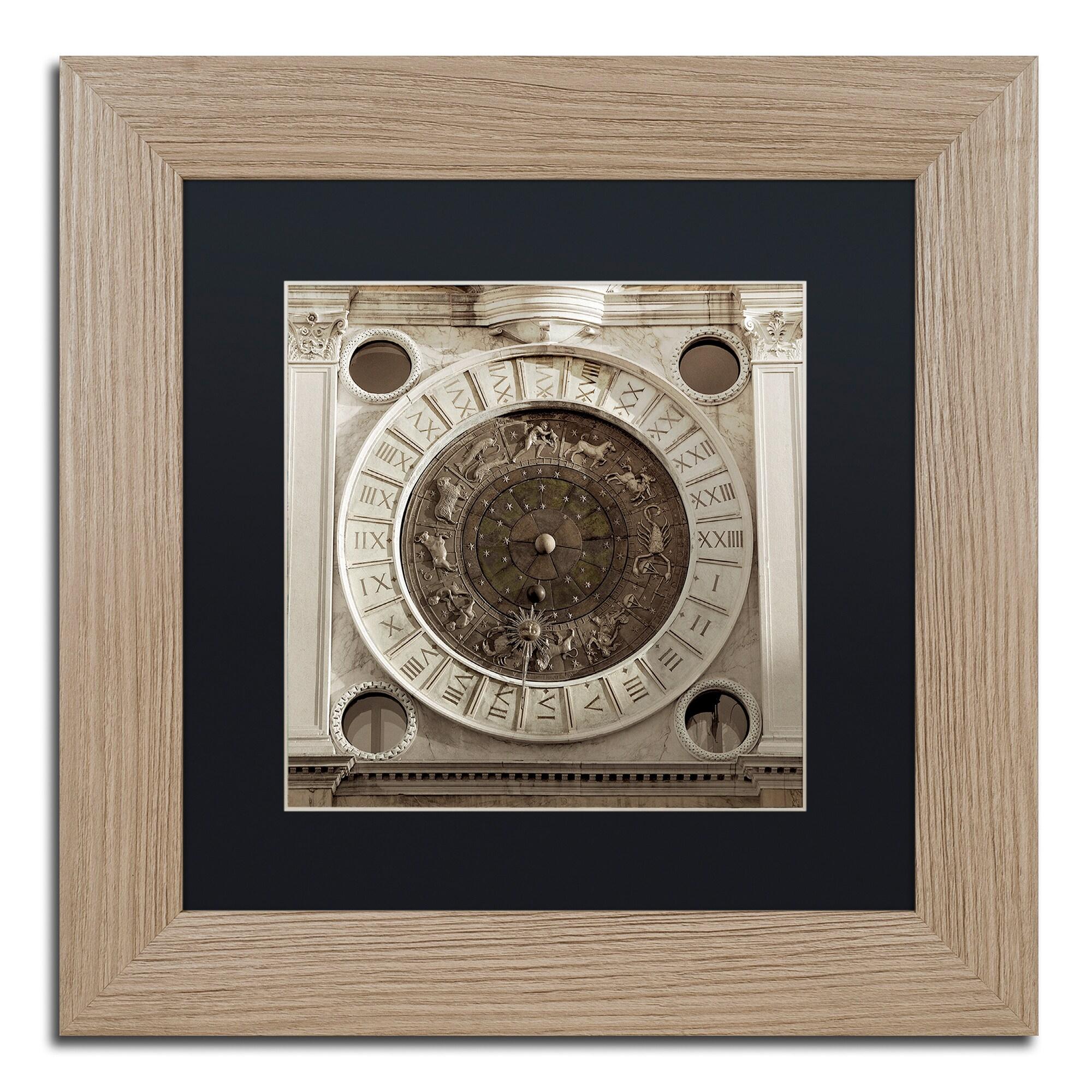 Trademark Alan Blaustein 'Il Grande Orologio IV' Matted F...