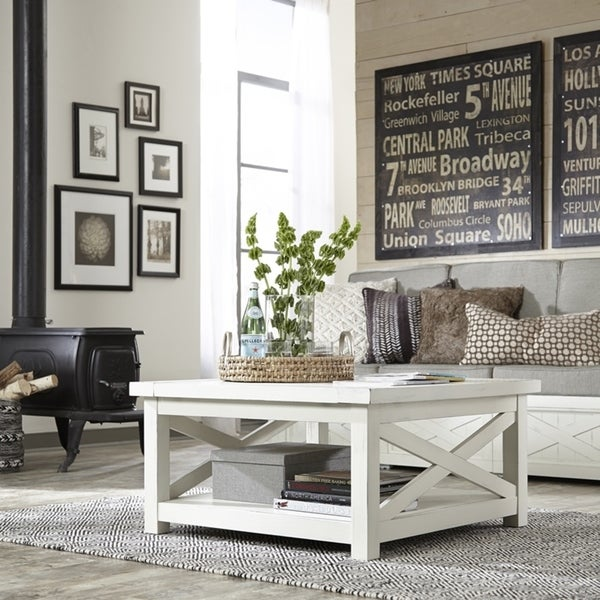 Seaside Lodge Coffee Table by Home Styles