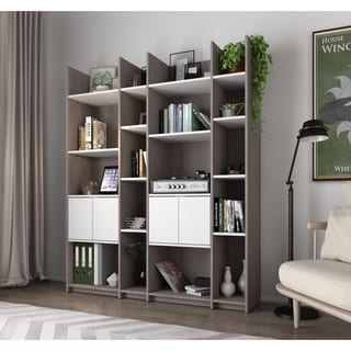 Bestar Small Space Storage Wall Unit