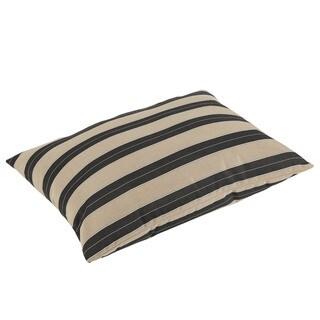 Pieper Sunbrella Berenson Tuxedo Indoor/ Outdoor 26 x 35 Inch Knife Edge Floor Pillow - 25 x 35