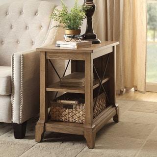 Acme Furniture Hiroko Oak Side Table
