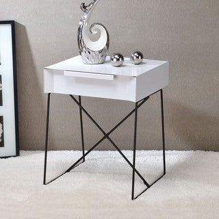 Acme Furniture Gualacao Metal End Table