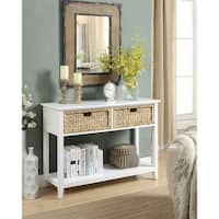 Acme Furniture Flavius 2-drawer Console Table