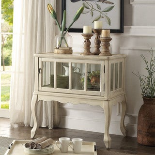 Acme Furniture Fidelia Console Table and Tray