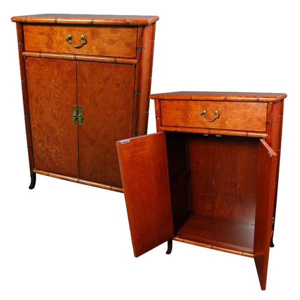 Burl Wood Cabinet (China)