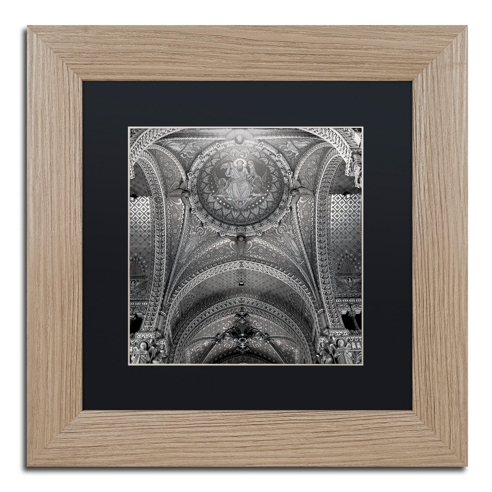 Trademark Alan Blaustein 'Lyon I' Matted Framed Art (16x1...