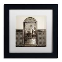 Alan Blaustein 'Cordoba I' Matted Framed Art