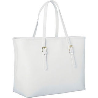 White, Leather Handbags - Shop The Best Brands Today - Overstock.com