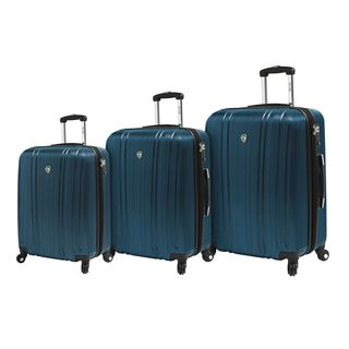 Mia Toro ITALY Acciaio 3-piece Hardside Spinner Luggage Set
