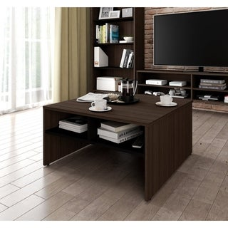 Bestar Small Space 29.5-inch Storage Coffee Table