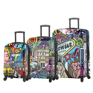 Jozza Life Style 3 Piece Hardside Spinner Luggage Set