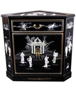 Lacquer Corner Cabinet (China)