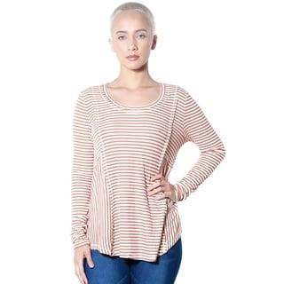 Women's Round-neck Long-sleeve Top