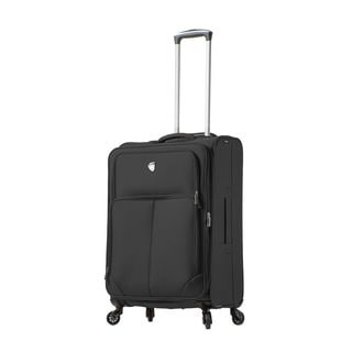 Mia Toro ITALY Leggero 24-Inch Softside Spinner Upright Suitcase