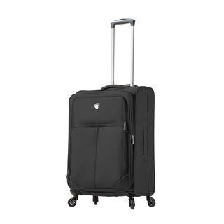 Mia Toro ITALY Leggero 24-Inch Softside Spinner Upright Suitcase
