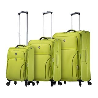 Mia Toro ITALY Elio 3-Piece Softside Spinner Luggage Set