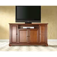 Alexandria Classic Cherry Wood 60-inch TV Stand