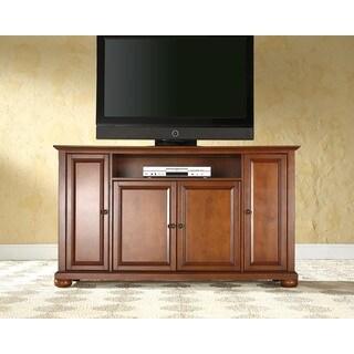 Alexandria Classic Cherry Wood 60-inch TV Stand
