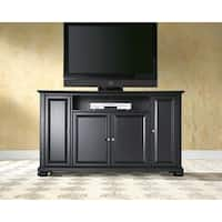 Alexandria Black Finish Wood 60-inch TV Stand