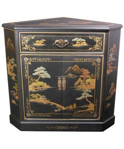 Handmade Japanese Corner Cabinet (China)