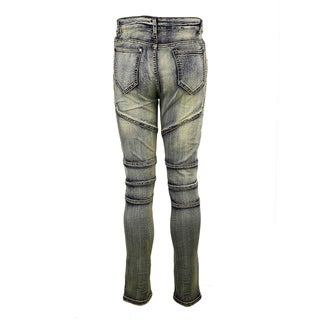 Women's Size 32 Straight Skinny-fit Distressed Jeans