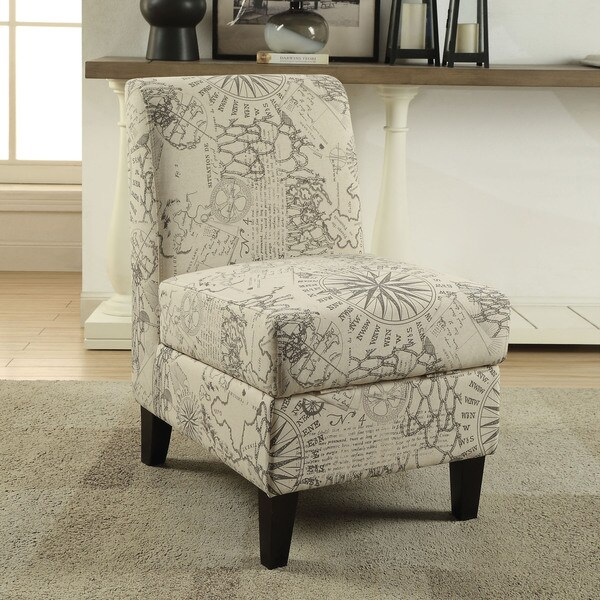Shop Acme Furniture Ollano Ii Multicolored Pattern Fabric