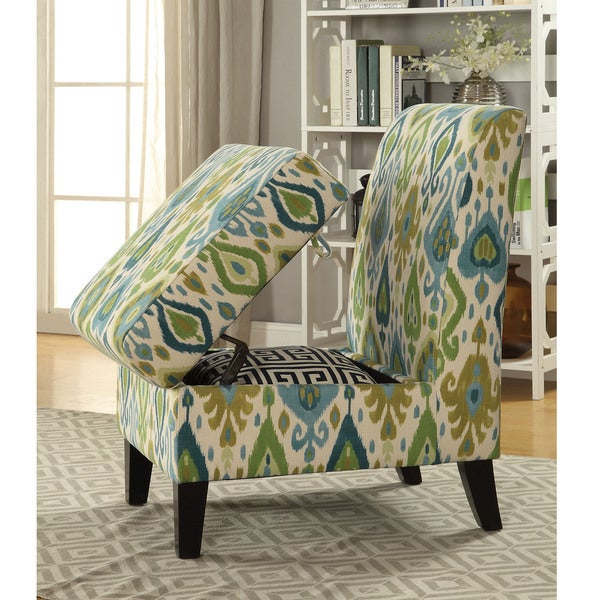 Shop Acme Furniture Ollano Ii Accent Chair With Storage