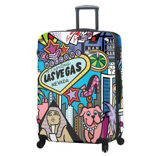 Mia Toro ITALY Jozza Life Style 28-Inch Hardside Spinner Upright Suitcase