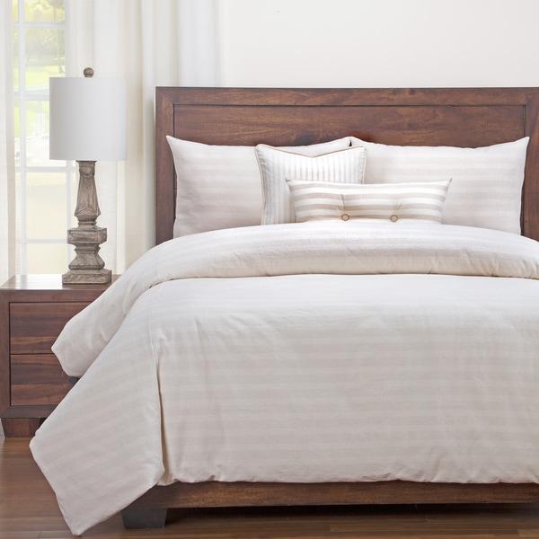 Siscovers Luxury Cotton-Blend Homestead Barley Down Alt Duvet Cover Set