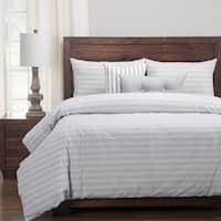 Siscovers Luxury Cotton-blend Homestead Indigo Down Alt Duvet Cover Set