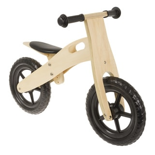 "Anlen Ultra-light 12"" Wooden Running/Balance Bike"