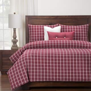 Siscovers Luxury Tartan Brick Down Alt Duvet Cover Set|https://ak1.ostkcdn.com/images/products/15210261/P21686920.jpg?impolicy=medium