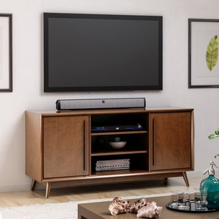 Leawood TV Stand For TVs Up To 60 Inches, Mahogany Cherry