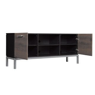 Cutler Bay TV Stand for TVs up to 60-inch, Black