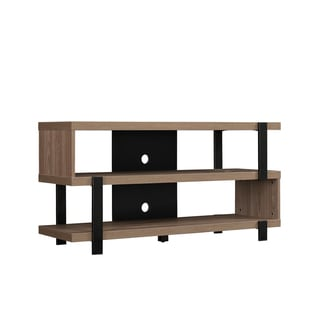 Oak Harbor TV Stand for TVs up to 55 inches, Oyster Walnut