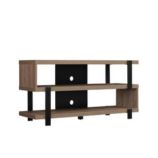 Oak Harbor TV Stand for TVs up to 55 inches, Oyster Walnut|https://ak1.ostkcdn.com/images/products/15210316/P21686972.jpg?impolicy=medium